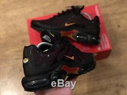 Nike Air Max Plus Tuned Tn Noir Taille Formateurs Royaume-uni 8,5 Eur 43 9,5 Cv1636 002
