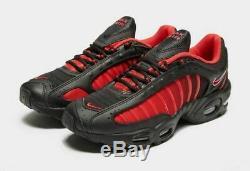 Nike Air Max Tailwind IV Baskets Homme Noir-rouge Stock Limite Toutes Les Tailles