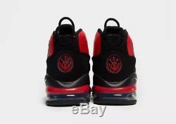 Nike Air Max Uptempo'95 Baskets Homme Noir-rouge Stock Limité Toutes Les Tailles