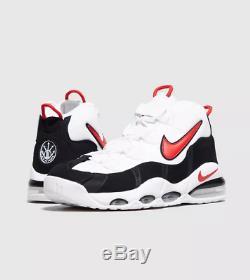 Nike Air Max Uptempo 95 Blanc Noir Rouge Baskets Pour Hommes Toutes Tailles Limited Stock