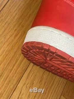 Nike Air Originale Jordan1 Nouveau-vieux Stock Noir Rouge Millésime Bred Même Hanamichi De