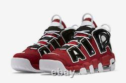 Nike Air Plus Uptempo'96 Chaussures Hoops Pack Taureau Rouge Noir 921948-600 Hommes