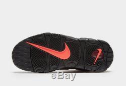 Nike Air Plus Uptempo 96 Junior Noir-rouge Unisexe Formateurs Stock Limite