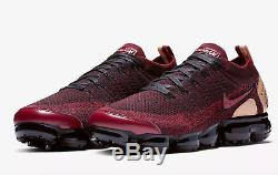 Nike Air Vapormax Flyknit 2 Nrg Team Rouge / Noir Stock Limité - Toutes Les Tailles