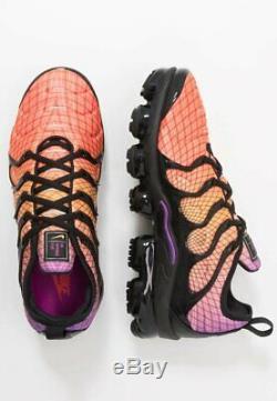 Nike Air Vapormax Plus Homme Noir Rouge Violet Argent Chaussure Trainer Uk 6-12