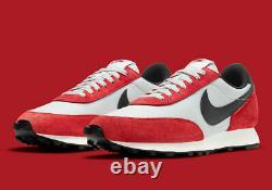 Nike Daybreak Chaussures Chicago Platinum Black Gym Red Db4635-001 Nouveauté Pour Hommes