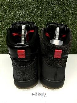 Nike Dunk High Sb Premium Qs Mighty Crown 20th Anniversary Noir Rouge 503766-001