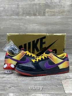 Nike Dunk Sb Low Apetite For Destruction Black Purple Gold Red 304292-052 Sz 12