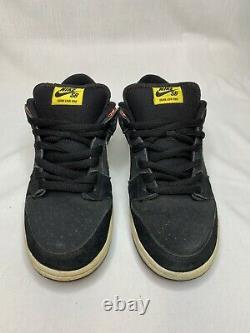 Nike Dunk Sb Low Prm Firecracker Rouge Noir 313170-016 Taille Us 10,5m Avec Boîte