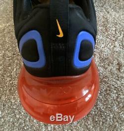 Nike Hommes Air Max 720 Noir Rouge Bleu Taille 11 46 Eu Uk (ao2924-014)