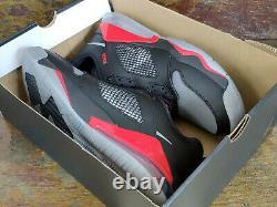 Nike Jordan Mars 270 Basketball Low Noir Rouge Chaussures Royaume-uni 12 Eur 47,5 Ck1196-001