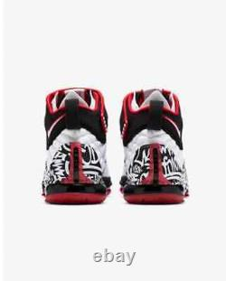 Nike Lebron 17 Graffiti Chaussures Homme Taille Us 8 Ct6047-100 Nouveau