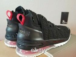 Nike Lebron 18 XVIII Université Black Red Blanc Cq9283-001 Lebron Bred Sz 11