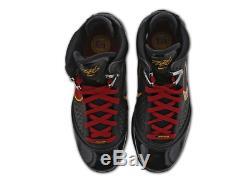 Nike Lebron 7 Hommes Noir-rouge-jaune Limitée Stock Toutes Les Tailles