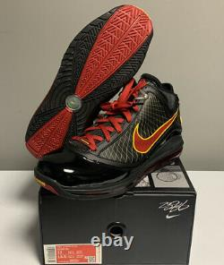 Nike Lebron VII 7 Fairfax Away 2020 Taille Homme Cu5646-001 Black Red Gold