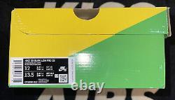 Nike Sb Dunk Low Pro Frame Skate Habibi Taille 12 (marque Nouvelle)