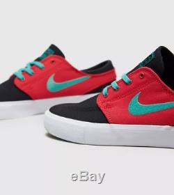 Nike Sb Janoski Zoom Noir Rouge Hommes Formateurs Toutes Les Tailles Stock Limite
