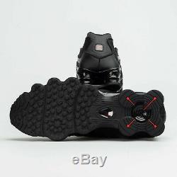 Nike Shox Tl Noir / Rouge Formateurs Uk 10 Bnib & Unused