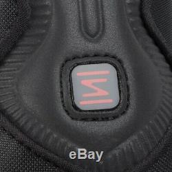 Nike Shox Tl Noir / Rouge Formateurs Uk 8 Bnib & Unused