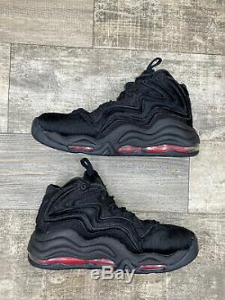 Nike X Kith Retro Air Pippen Uptempo 1 97 97 Animal Noir Rouge Taille 9