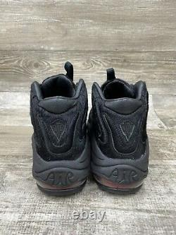 Nike X Kith Retro Air Pippen Uptempo 1 97 97 Black Red Animal Ah1070-001 Taille 9