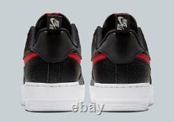 Nouveau 2020 Nike Air Force 1 Lv8 Utility Bred (hommes Royaume-uni 8 Eur 42,5) Noir / Rouge