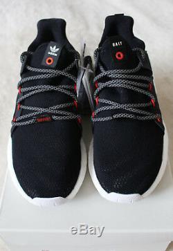 Nouveau Adidas Bait Eqt Soutien Futur Développement 93/17 R & D Noir Rouge Uk 7 7,5