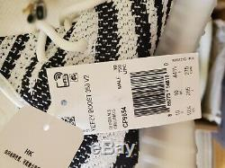 Nouveau Adidas Yeezy 350 Boost V2 1cp9654 Zebra Blanc / Noir / Rouge Taille 10,5 Invendus