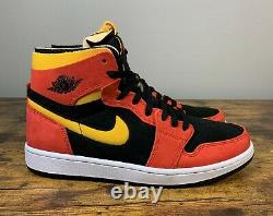 Nouveau Nike Air Jordan 1 High Zoom Air Cmft Chili Rouge Ct0978 006 Taille Homme 8