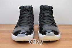 Nouveau Nike Air Jordan Retro XI 11 72-10 Taille 10.5 Blanc Rouge Noir Bred 378037-002