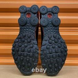 Nouveau Nike Shox Nz Eu Hommes Taille Chaussures De Course Noir/rouge/argent 501524 027