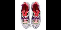 Nouveau Nike Vision React Hommes Formateurs Blanc-noir-rouge-flourescent Chaussures De Toutes Tailles
