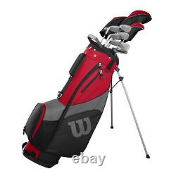 Nouveau Wilson Profile Sgi Hommes Club De Golf Complet Avec Chauffeur, Fers, Sac, Putter