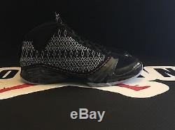 Original Air Jordan Xx3 Black-varsity- Red Nib Taille 10.5 Dead Stock