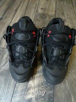 Osiris D3 2001 Mens Shoes Taille 11 USA Rare Noir Rouge