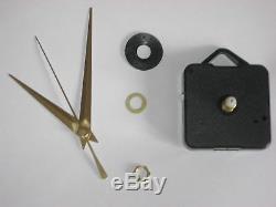 Paquet De 20 Mouvement D'horloge À Quartz. Plusieurs Tailles Main / Broche Choix Disponibles