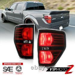 Pour 09-14 Ford F150 Raptor Style Raptor Remplacement Du Signal Lumineux De Queue Noire