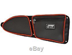 Protège-genoux Polaris Rzr Xp1000 900xc 900s De Siège Noir Et Rouge De Prp Seats