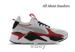 Puma Baskets Hommes Blanc-noir-rouge Trophées Toutes Les Tailles Stock Limité
