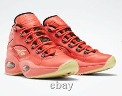 Reebok Question Mid'hot Ones' Hommes Basketball Sneakers (gv7093) Toutes Les Tailles