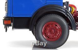 Road Kings 1969 Mercedes Lps 1632 Bleu / Noir / Rouge Foncé Echelle 1/18 Nouveau! En Stock