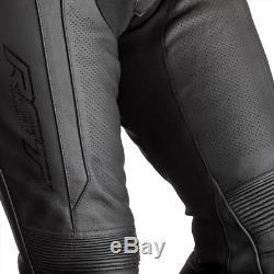 Rst Axis 2020 Noir / Rouge / Blanc Ce Budget En Cuir Pour Homme Veste Et Pantalon Set 2pc