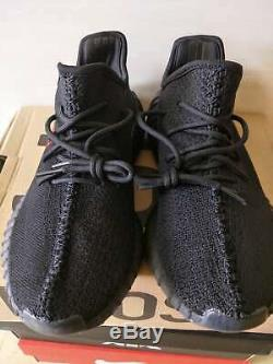Rupture De Stock Ne Pas Achat! Adidas Yeezy Boost 350 V2 Noir Rouge