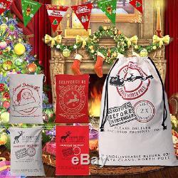 Sac De Noël Père Noël Sac De Noël Sac De Stockage Stockage Sac De Jute Sac De Jute Prix De Gros