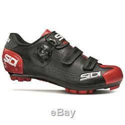 Sidi Trace 2 Vtt Vtt Chaussures Noir / Rouge Taille 44,5 Ue