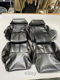 Sièges 1989-1992 Corvette C4 Couverture Noir Standard