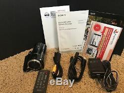 Sony Hdr-pj260v (16 Go) Caméscope Haute Définition + Nouveau Cas Et Carte Sd