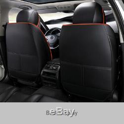 Standard Siège D'auto 5 Places Couverture De Luxe En Cuir Et Intérieur En Microfibre Accessoires