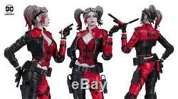 Statue DC Collectables Harley Quinn Rouge, Blanche Et Noire, Injustice 2, Neuve En Stock