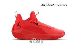 Stock Limité De Nike Jordan Jumpman Hustle Rouge-noir-rouge Pour Homme Toutes Les Tailles